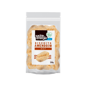 Biscoito Caseiro Diet Amendoim Saúde e Energia 100g