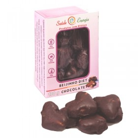 Biscoito Caseiro Diet Beijinho com Chocolate Saúde e Energia 100g