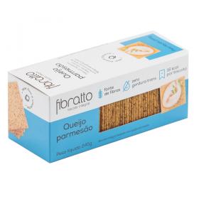 Biscoito Integral Sem Açúcar Queijo Parmesão Fibratto 245g - Validade: 25/09/2020