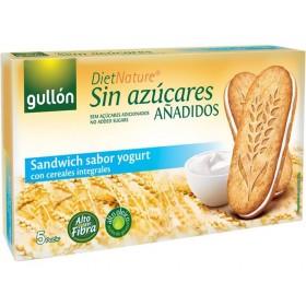 Biscoito Integral Sem Adição de Açúcar Recheado com Creme de Iogurte Gullón 220g
