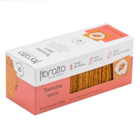 Biscoito Integral Sem Açúcar Tomate Seco Fibratto 245g