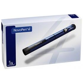 Caneta Novopen 4 para uso com Refil das Insulinas Novolin, Novorapid, Novomix e Levemir