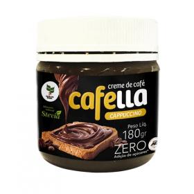 Creme de Café Cappuccino Zero Adição de Açúcar Cafella Cafene 180g