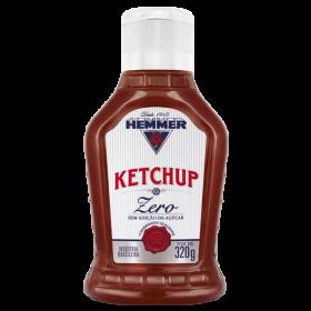 Ketchup Zero Açúcar Hemmer 310g