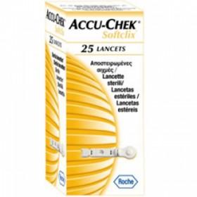 Lancetas Accu-Chek Softclix Caixa com 25 Unidades