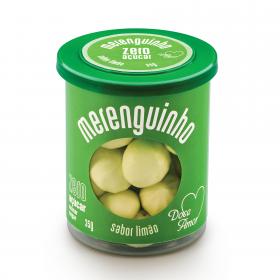 Merenguinho Suspiro Zero Açúcar Limão Doce Amor 35g