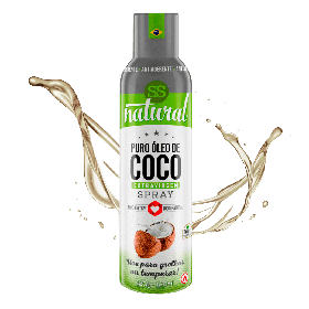 Óleo de Coco Extravirgem Spray SS Natural 128mL