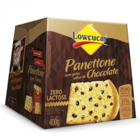 Panetone Zero Adição de Açúcar Gotas de Chocolate Lowçucar 400g