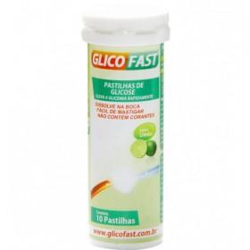 Pastilhas de Glicose Limão Glicofast 10 pastilhas