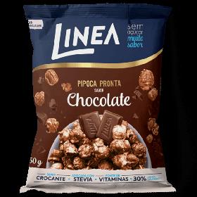 Pipoca pronta Sem Açúcar Chocolate Linea 50g