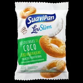 Rosquinhas de Coco Light Sem Adição de Açúcar Suavipan 30g