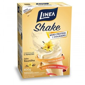 Shake Zero Adição de Açúcar Baunilha Linea 400g