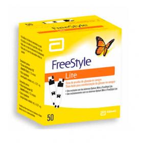 Tiras FreeStyle Lite Caixa com 50 Unidades Abbott
