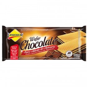 Wafer Chocolate  Zero Açúcar Lowçucar 115g